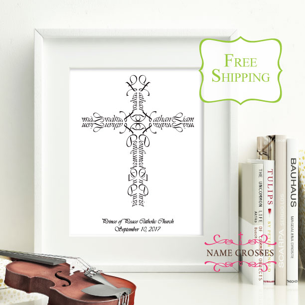 Confirmation Personalized Cross